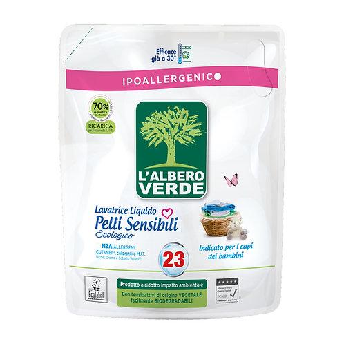 Detergent lichid hipoalergenic pentru piele sensibila L'albero Verde 1,518 ml