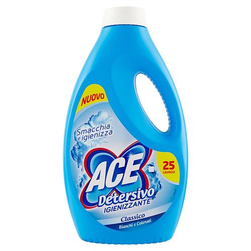 ACE Detergent Lichid Igienizant pentru Rufe Albe si Colorate 25 spalari