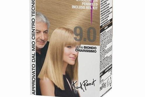 Frank Provost crema coloranta permanenta 9.0 blond deschis.
