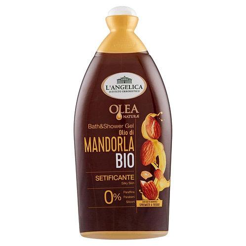 Gel de dus si baie L'Angelica Olea natural cu ulei de migdale 500 ml