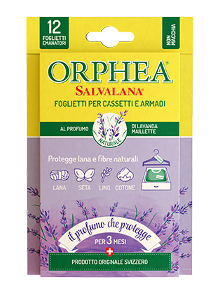 Folii Orphea pentru sertare si dulapuri - anti Molii - Lavanda maillette 12 buc