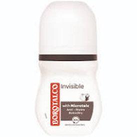 Deodorant roll-on Borotalco Invisible 50ml