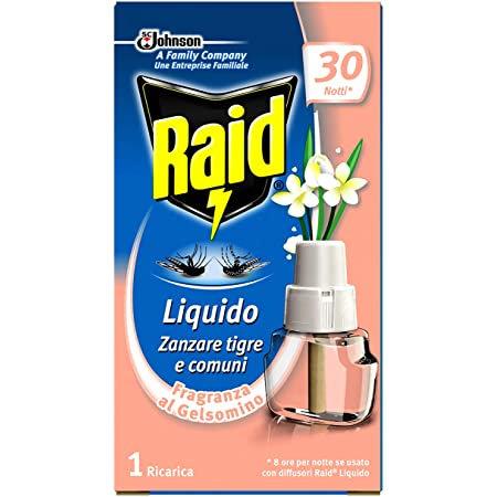 Rezerva lichida anti-tantari Raid parfum de Iasomnie pentru aparat electric