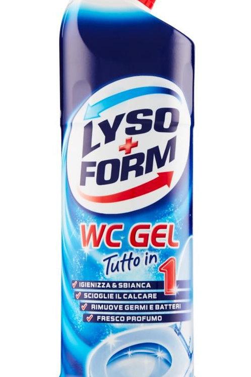 LYSOFORM Gel de curatare pentru toaleta Totul in 750ml
