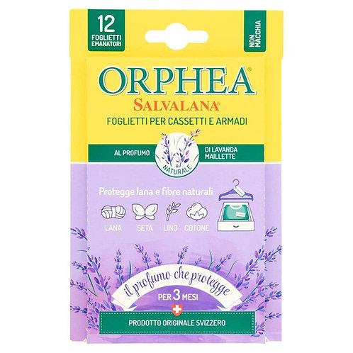 Folii pentru sertare si dulapuri Orphea,anti molii - Lavanda maillette 12 buc