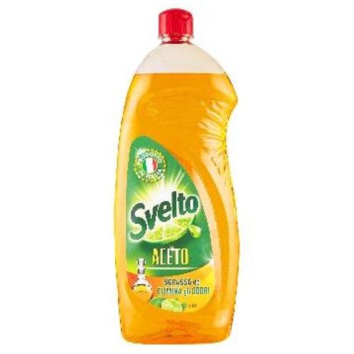 Detergent de Vase Svelto cu Otet si Lamaie Verde 1L