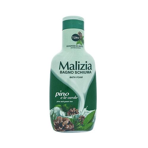 Spumant de baie Malizia Bagno Schiuma pino and green tea 1l