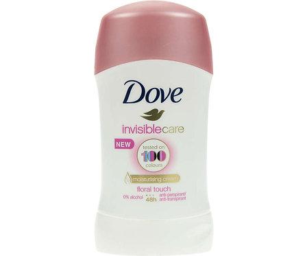 Deodorant antiperspirant stick Dovei invisible Care, 40 ml