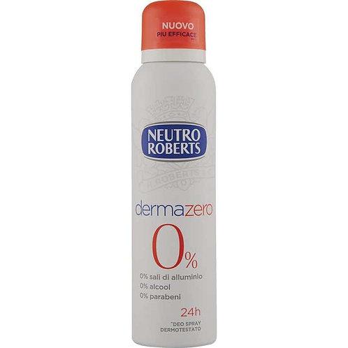 Antiperspirant spray,Neutro Roberts,Dermazero,125 ml