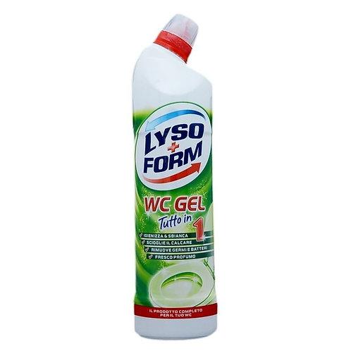 Gel wc Lyso+Form verde 750 ml