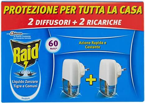 2 Aparate si 2 rezerve Raid electric lichid anti - tantari