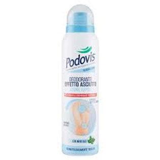 PODOVIS-deodorant ptr picioare,efect uscat,cu mentol,150ml