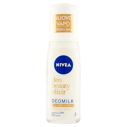 Deodorant spray Nivea Deomilk piele catifelata si neteda 48h, 75ml