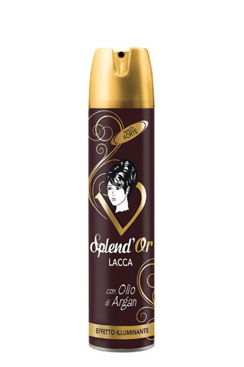 Spray fixativ par Splend'Or cu ulei de argan 400 ml