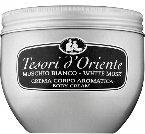 Crema de corp aromatica Tesori D'Oriente musc alb 300ml