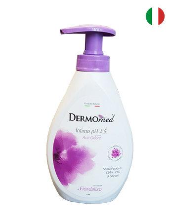 Dermomed Sapun lichid intim cu pompita 300 ml  Stop miros