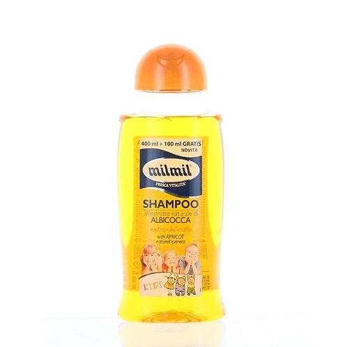 Milmil Sampon pentru copii 500 ml Albicocca