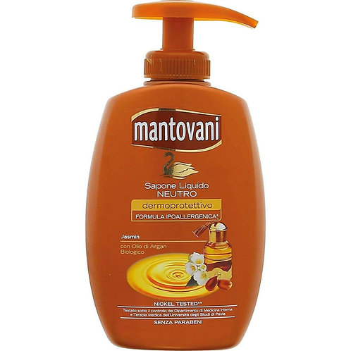 Sapun lichid,Mantovani,iasomie si ulei de argan 300 ml