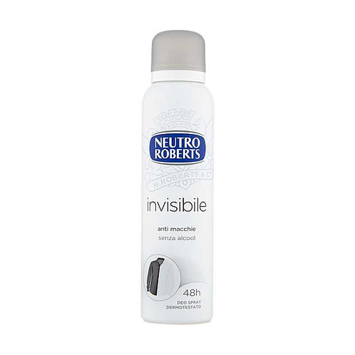 Spray pentru ingrijire corporala NEUTRO ROBERTS 150 ml, Invisibile