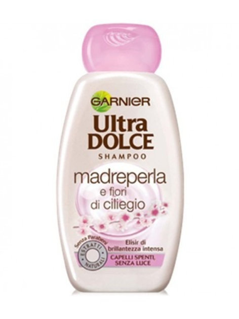 Ultra dolce-garnier-sampon madreperla si extract de cirese 250ml