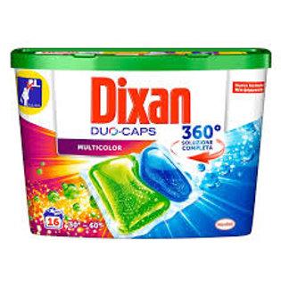 Dixan color Detergent Rufe capsule 30 bc