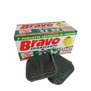 Bureți de vase BRAVO Sgrassante