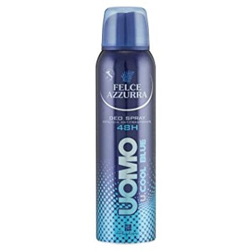 Felce Azzurra Uomo Deodorant Spray U.Cool Blue Pentru Barbati