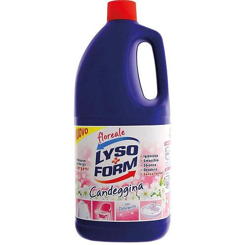 Detergent dezinfectant concentrat cu clor,Lyso Form, parfum floral,2,5 litri