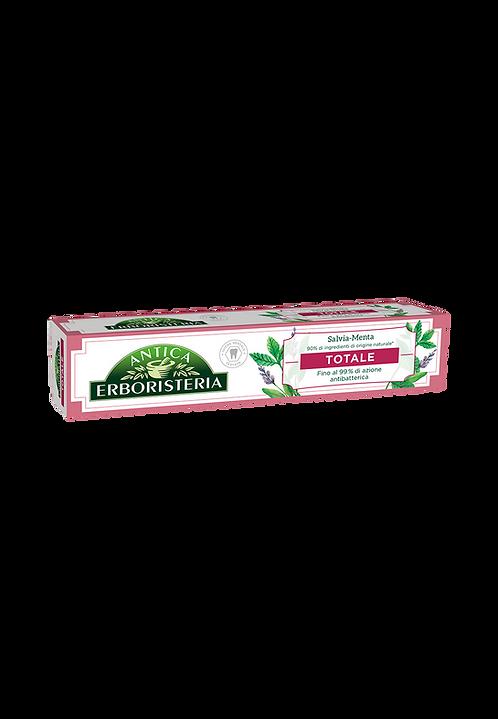Pastă de Dinți Antica Erboristeria TOTALE - Menta şi Salvie