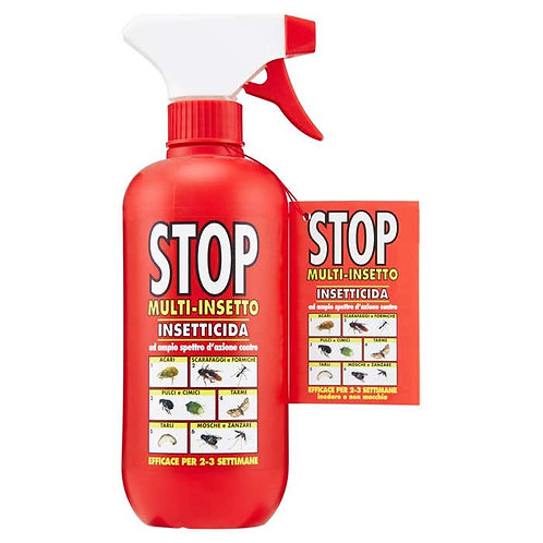 Insecticid Stop Spray impotriva multiplelor insecte 375 ml