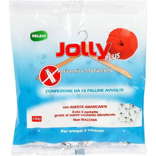 Pastile anti- Molii Jolly Plus parfumat pentru sifoniere si sertare 100 gr