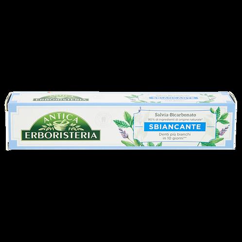Pasta De Dinti Antica Erboristeria Sbiancante Pentru Inalbire Cu Saliva Si Bicar