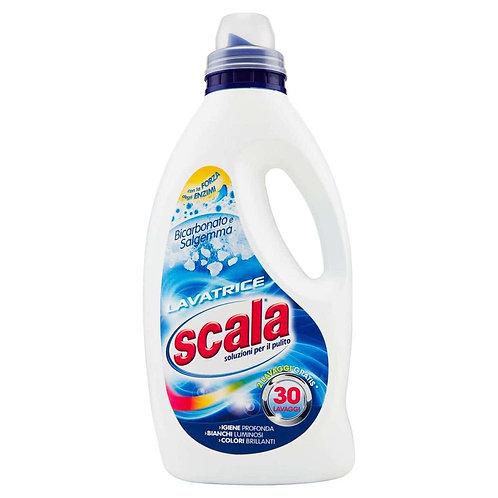 Detergent rufe albe Scala,bicarbonat si sare de roca,30 spalari-1.5L