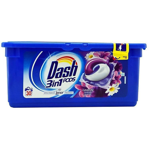 Pernute Detergent Dash 3 In 1 Lavanda 30 Bucati