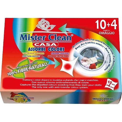 Mister Clean Absoarbe Culoare Servetele Rufe Pentru masina de spalat