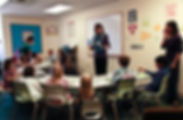 Youth ministry Sunday school classroom children Episcopal church