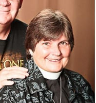 Marion Phipps rector St Hugh Elgin