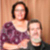 Senior church couple Episcopal hospitality