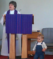 Female Episcopal priest Sunday sermon kid friendly church.jpg