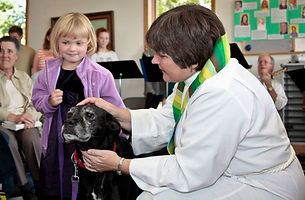 Pet blessing special programs animals families Episcopal church