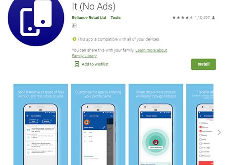 Xender और SHAREit file sharing app का Top 5 विकल्प