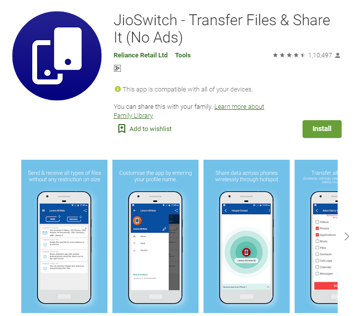 Xender और SHAREit file sharing app का Top 5 भारतीय विकल्प
