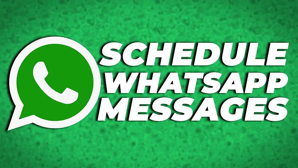 व्हाट्सएप संदेशों को शेड्यूल करने के लिए कोई आधिकारिक सुविधा नहीं देता है