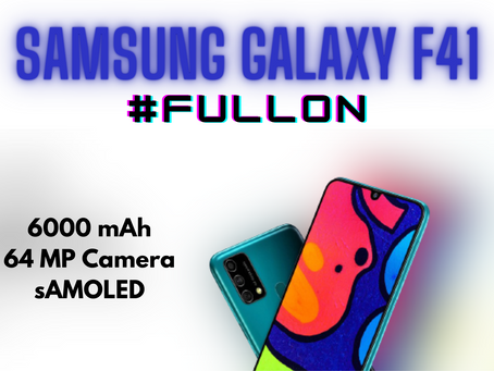 Samsung Galaxy F41 Review & specification In Hindi