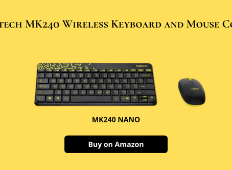 Logitech MK240 Wireless Keyboard and Mouse Combo Review & price in Hindi