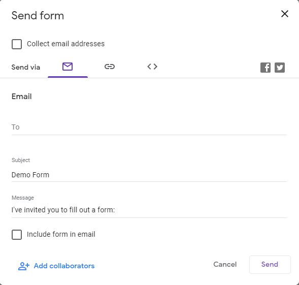 Google Form में कितने प्रकार के Form बना सकते हैं ?