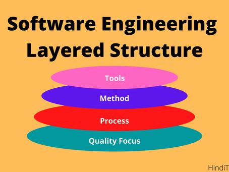 Software Engineering a layered technology क्योँ  कहा जाता है?