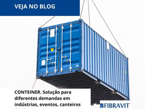 Container. Solução para diferentes demandas.