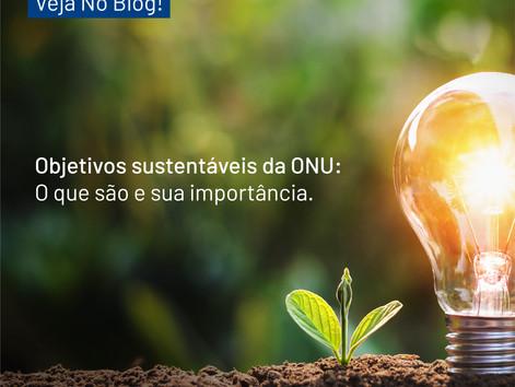 Objetivos sustentáveis da ONU: O que são e sua importância.