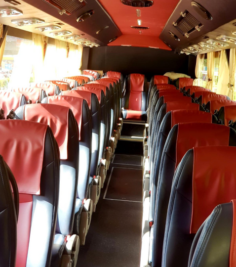 Coach - Seating Layout
